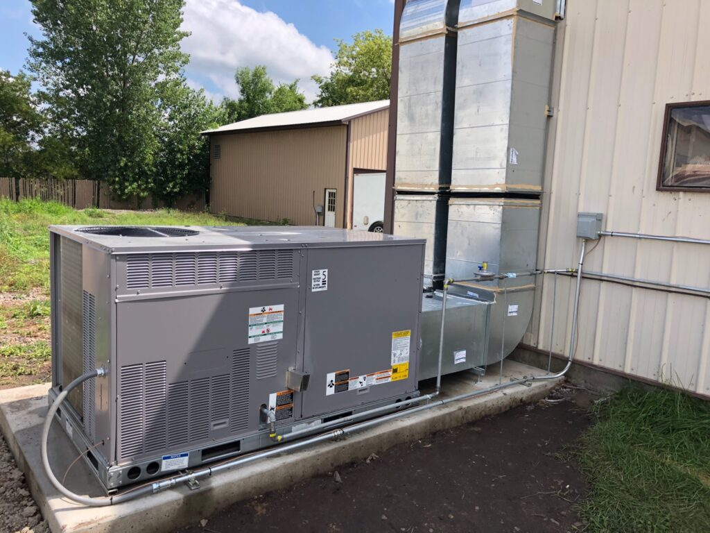 Commercial Packaged Unit - Heating & Cooling