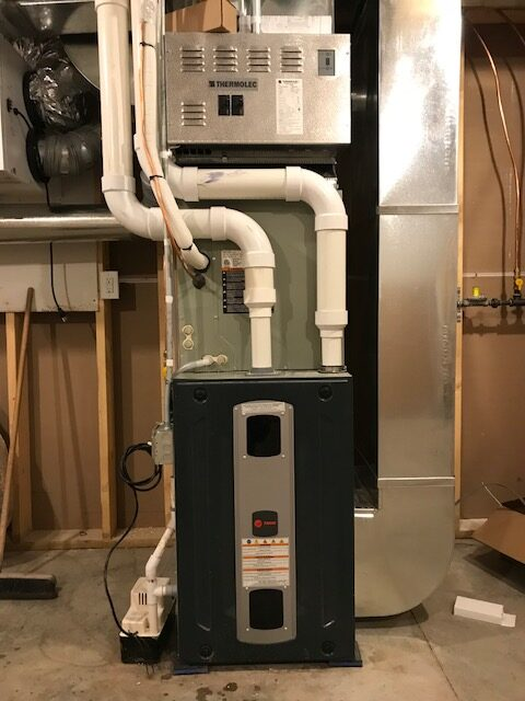Gold Furnace With Plenum Heater
