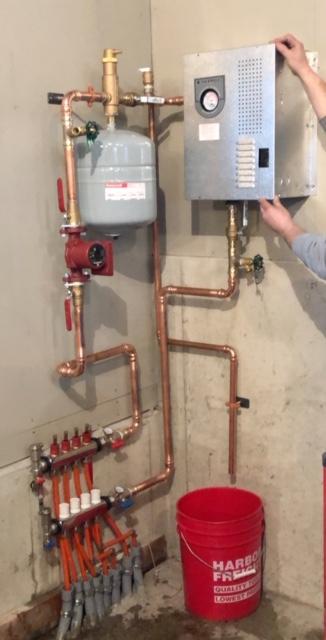 Electric In-Floor Heating Boiler System